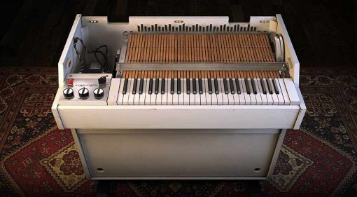 IK Multimedia SampleTron 2: 8 GB an Vintage Tape-basierten Sample Playern