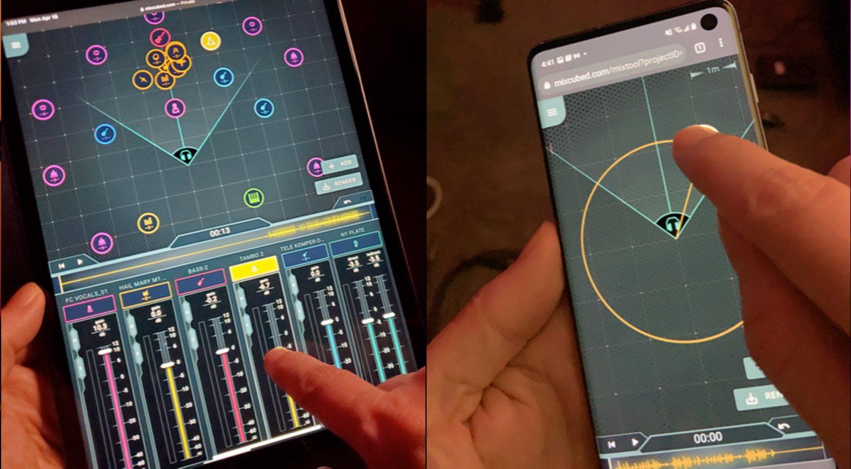 Immersion Networks Mix³ auf Tablet und Smartphone
