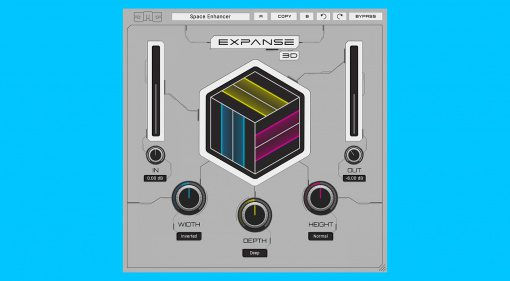 JMG Sound Expanse 3D: Expander Plug-in für mehr Raumklang und 3D