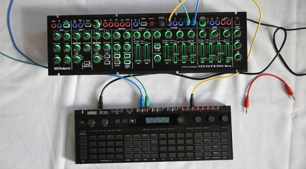 Korg SQ64 mit System 1m