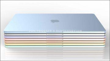 Leak: Apple taucht das kommende MacBook Air in Farbe und mehr!