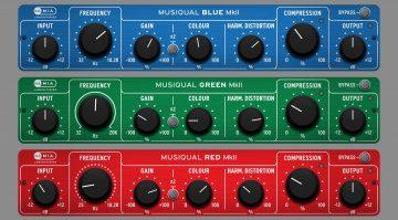 MIA Laboratories Musiqual Red, Green und Blue MKII