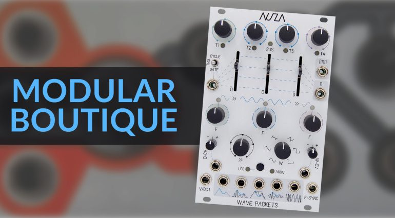 Modular-Boutique Wave Packets