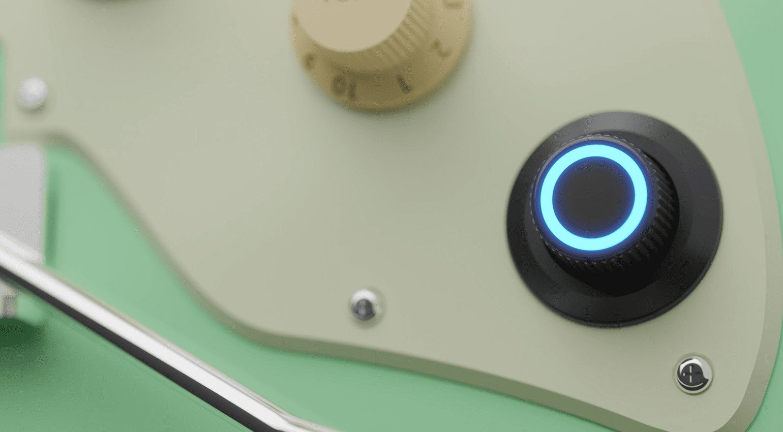 Mooer GTRS Intelligent Guitars Super Knob
