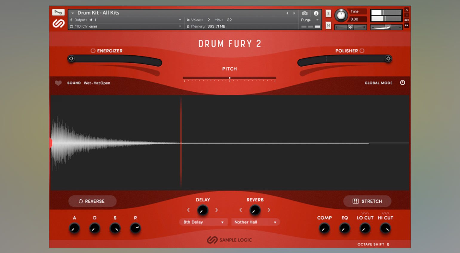 Sample Logic Drum Fury 2
