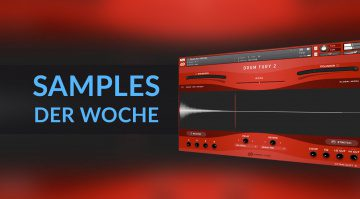 Samples der Woche: Drum Fury 2, Neo Zheng, 808 Bass, MagicDrum, Autoharp