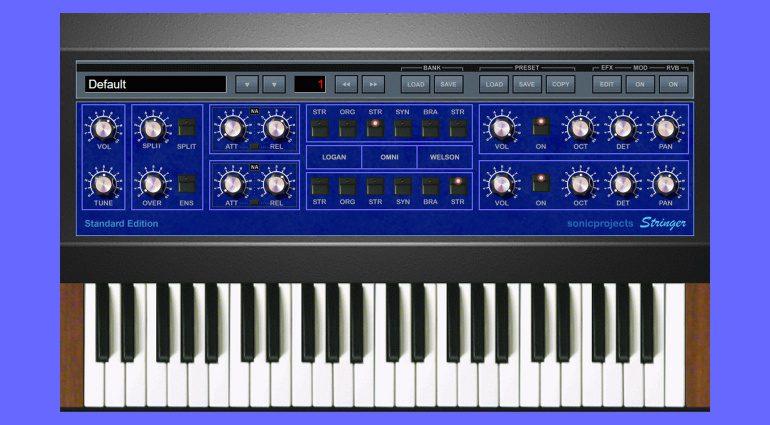 SonicProjects Stringer 3.0 emuliert drei Vintage String Machines