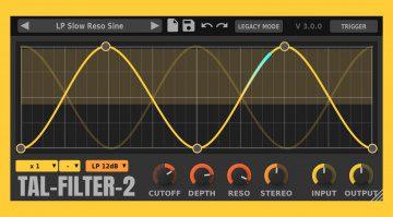 Kostenlos: TAL-Filter 2 in neuer Version 3.0 veröffentlicht