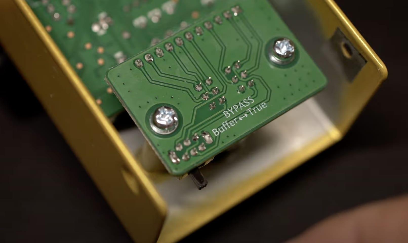 TC Electronic Zeus Drive Buffer Bypass