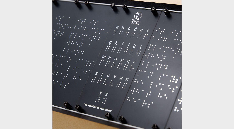 "Three Tom Modular The ""Blind"" Panel"
