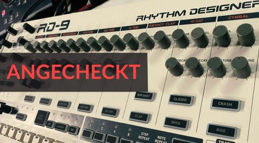 Angecheckt: Behringer RD-9 Rhythm Designer