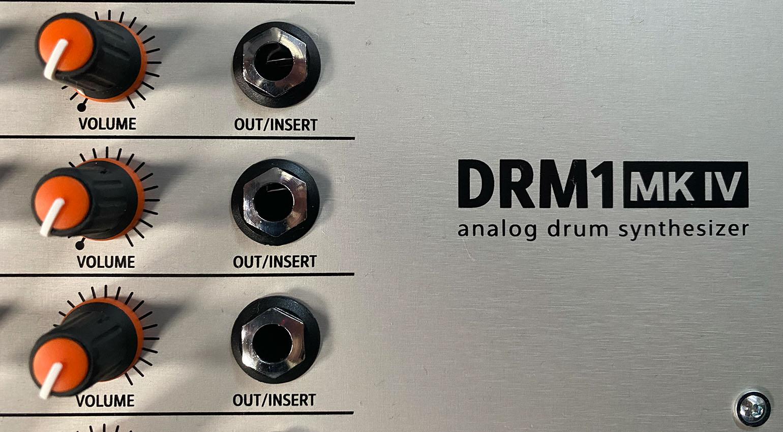 Angecheckt: Vermona DRM-1 MK IV analog Drum Machine