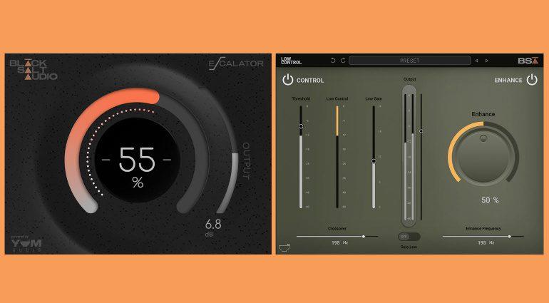 Black Salt Audio Escalator und Low Control