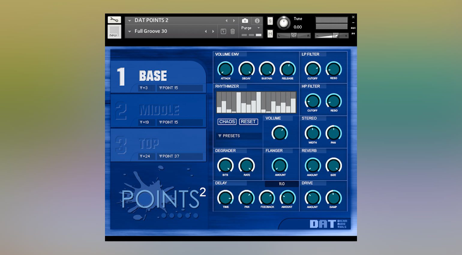 Dream Audio Tools POINTS 2: The Tension Machine