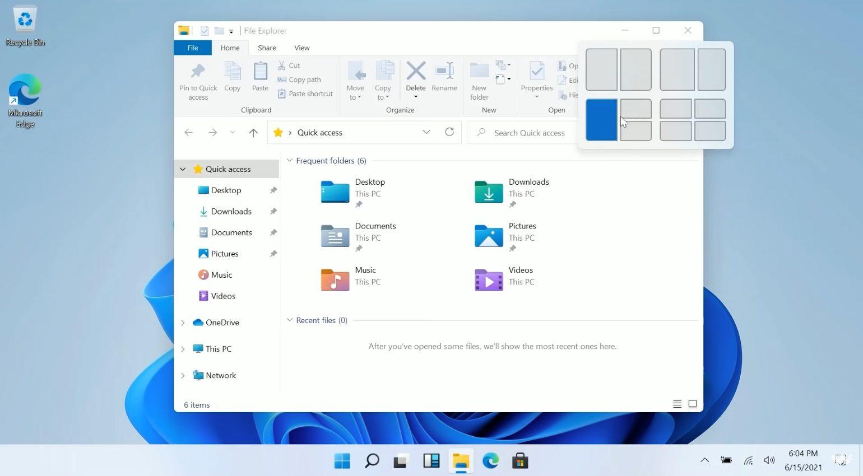 Windows 11 Snap Function