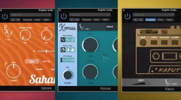 Kostenlos: Engelen Audio verschenkt Kaput, Koruss und Sahara VST-Plug-ins