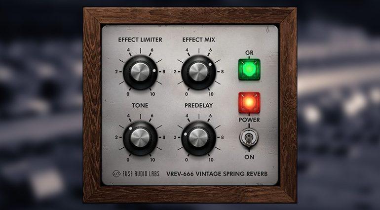Kostenlos: Fuse Audio Labs verschenkt VREV-666 Spring Reverb Plug-in