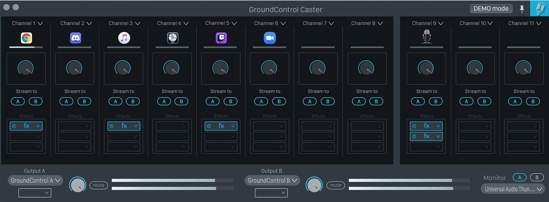 Ginger Audio GroundControl mit neuem Design