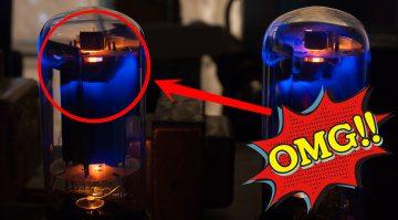 Gitarren Verstärker Amp Tubes Röhren Glühen MArshall MG Teaser 1