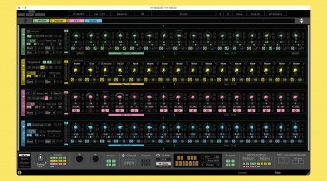 HY-Plugins HY-SEQ32: virtuell analoger 32-Step Sequencer