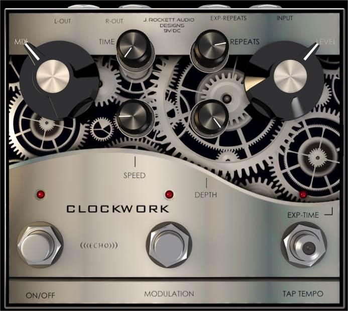 J.ROCKETT Clockwork Echo
