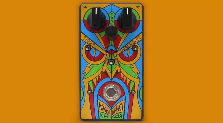 KHDK Ascendency Pedal Front