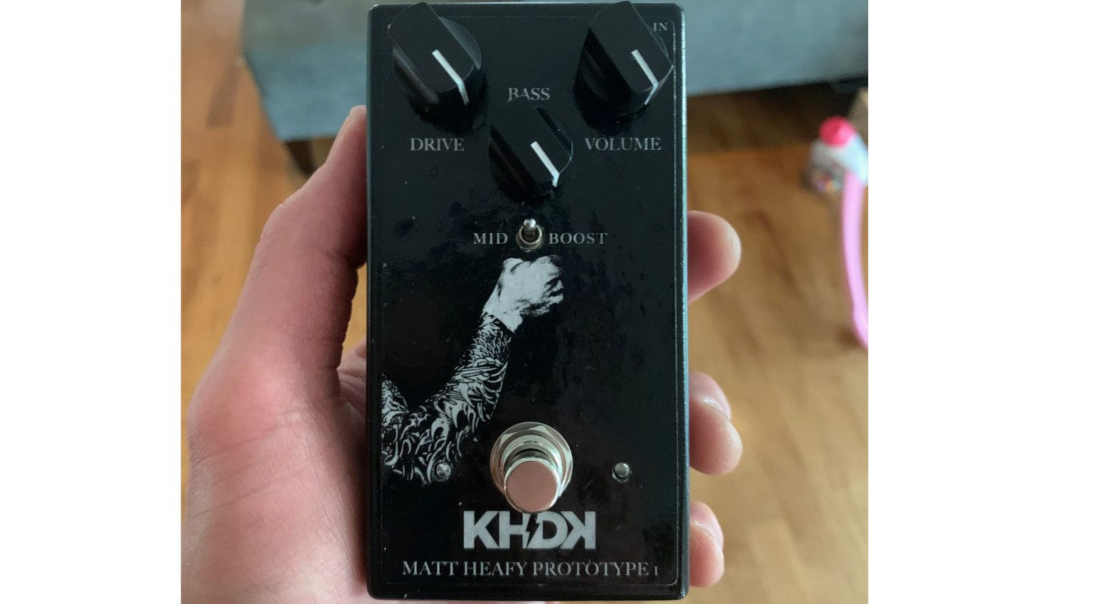 KHDK Ascendency Pedal Prototyp Front