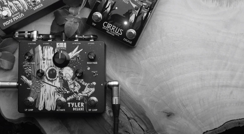 KMA Machines Tyler Deluxe Frequenz Splitter Effekt PEdal
