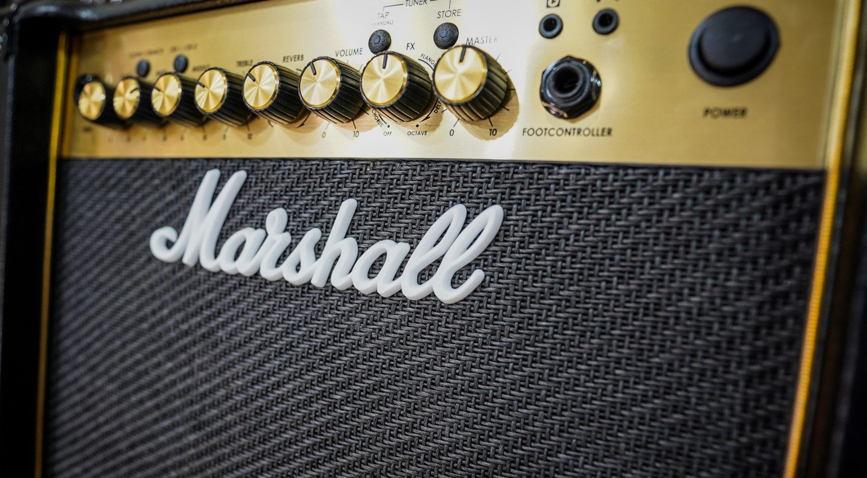 Marshall MG Transoistor Amp Front