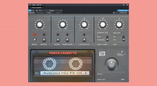 PreSonus Retro Mix Legends Porta Cassette