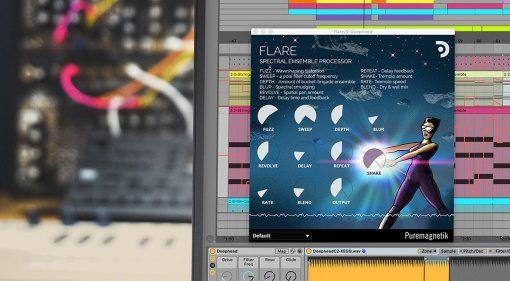 Puremagnetik Flare: spektraler Ensemble Prozessor und ein BBD