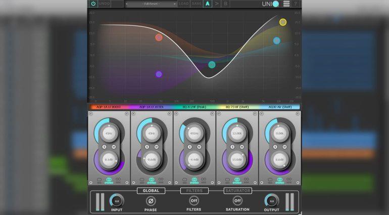 Red Rock Sound uniQ: virtueller Baukasten für einen analogen EQ