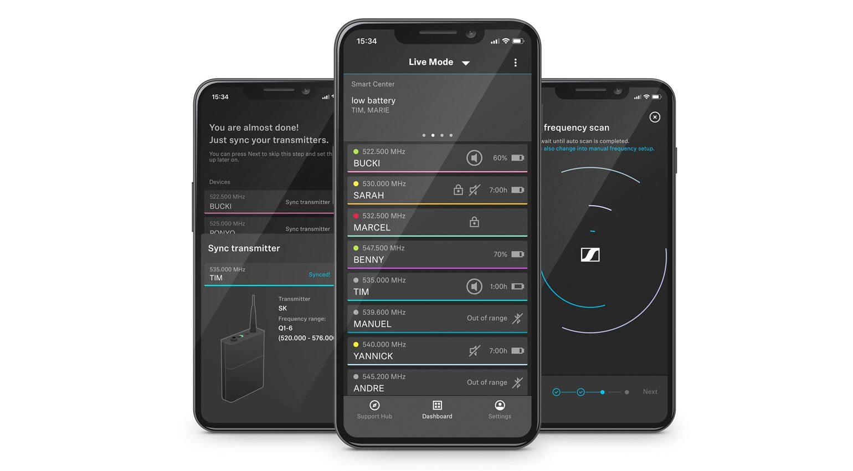 WE-D Smart Assist App