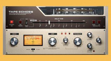 Softube Tape Echos: ein Bandecho als Plug-in, für Modular und Amp Room