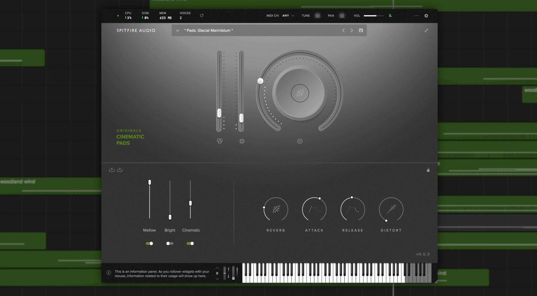 Spitfire Audio Originals Cinematic Pads
