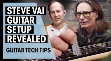 Steve Vai Guitar Tech Tipps Video