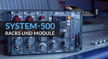 System-500: Fünf Racks und Module für 500 Series Lunchbox