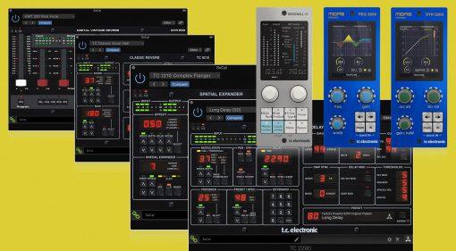 TC Electronic senkt dauerhaft Preise für Plug-ins & Controller um bis zu 30 %