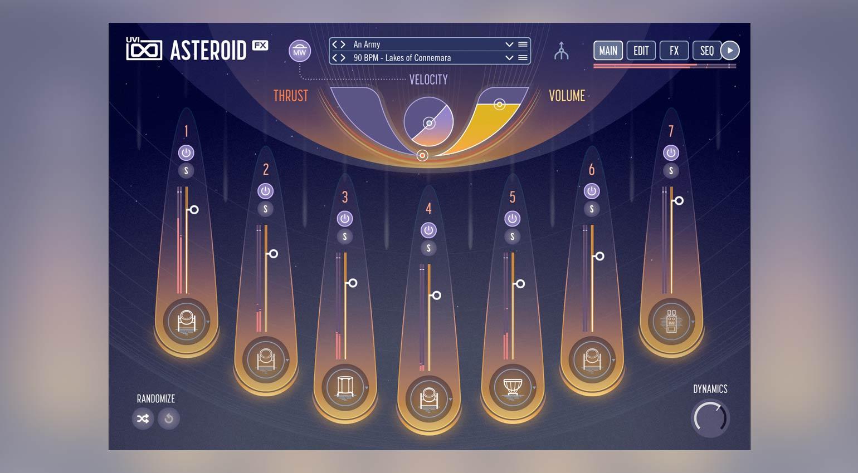 UVI Asteroid