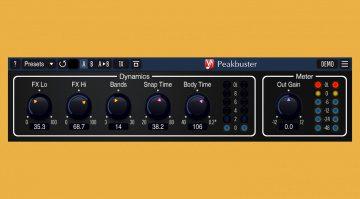 Voxengo Peakbuster: Multiband Transient Shaper Plug-in und mehr