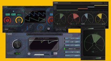 Yum Audio veröffentlicht drei schicke Effekt-Plug-ins und eine Freeware