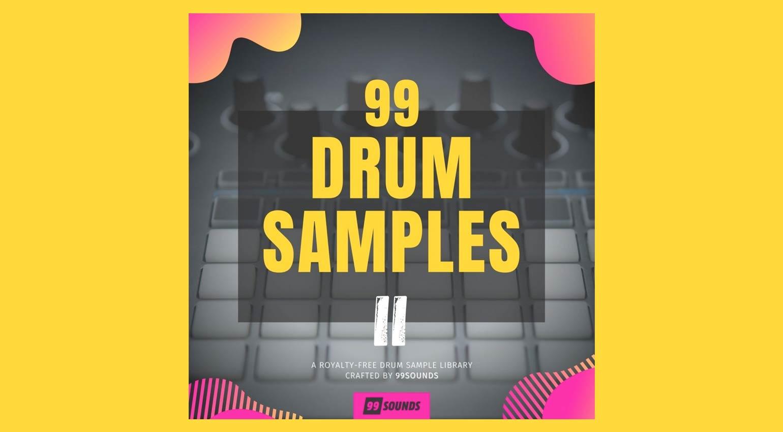 99Sounds 99 Drum Samples II