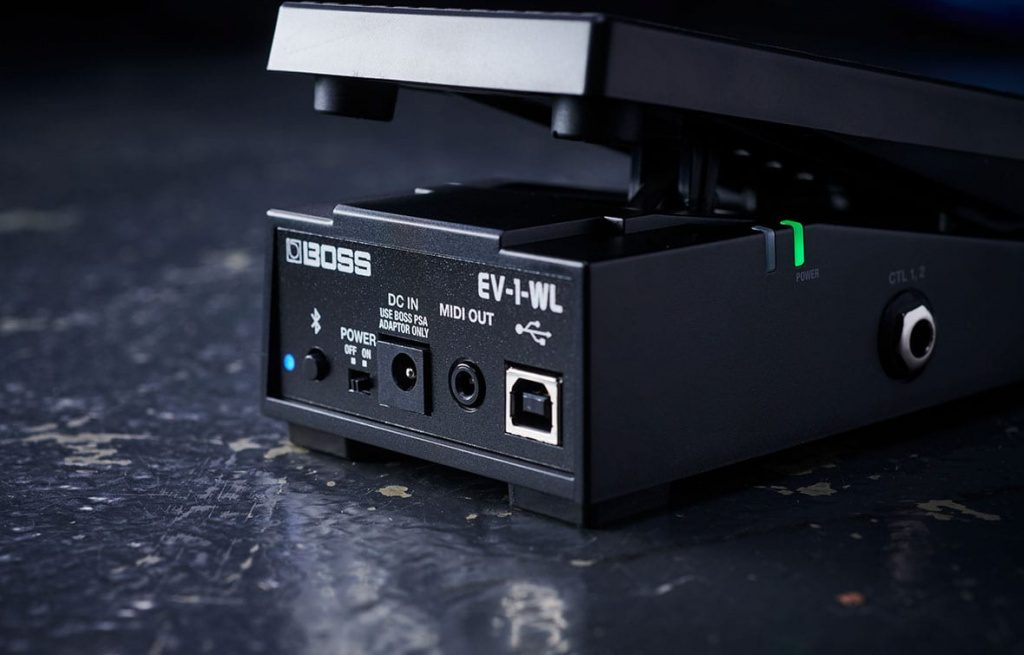 EV-1-WL Wireless MIDI Expression Pedal