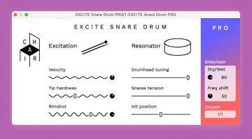 Kostenlos: CHAIR EXC!TE SNARE DRUM Generator für Finger Drummer