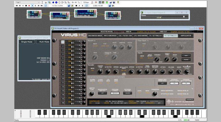 DSP56300 Emulator