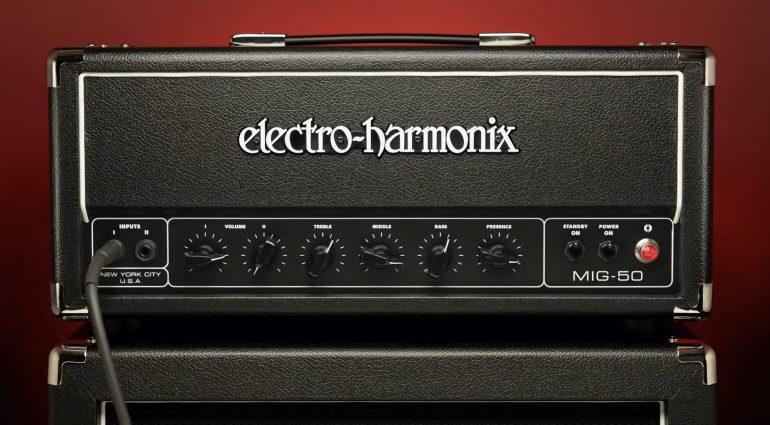 Electro-Harmonix EHX MIG-50 Vollröhre Topteil Bassman
