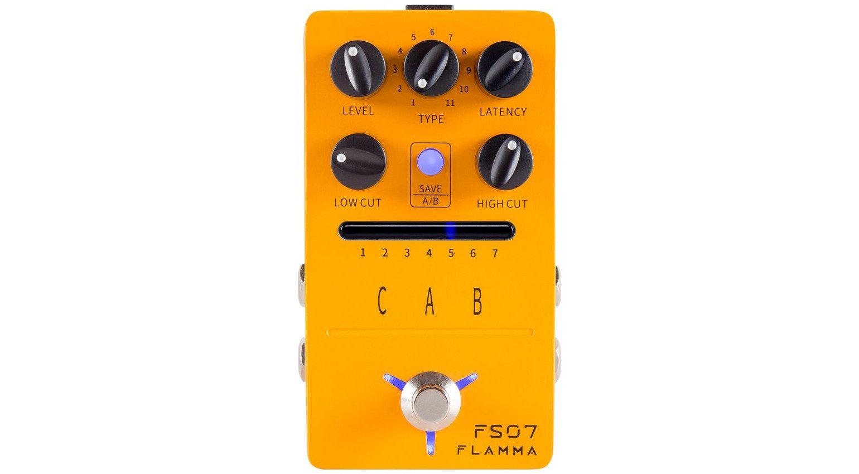 Flamma FS07 Cab IOR Loader Effekt Pedal Front Close