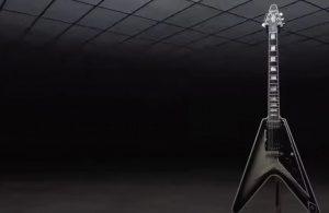 Gibson Adam Jones Silverburst Flycing V Custom teased