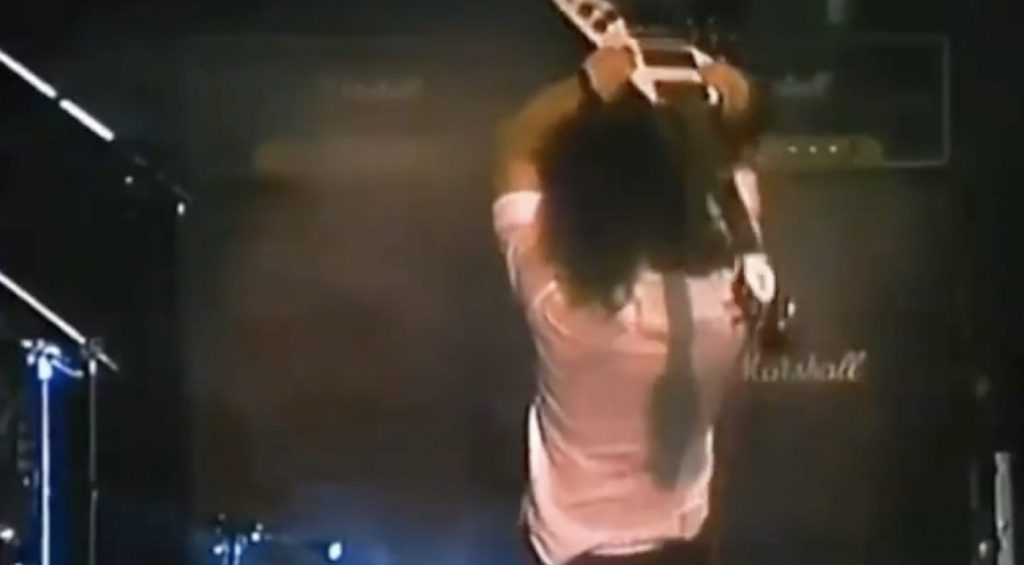 Kirk Hammett Flying V