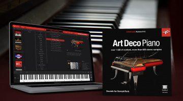 Kostenlos: IK Multimedia verschenkt kurzzeitig Art Deco Piano